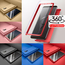 Samsung S10 S10e S9 S8 S7 A10 A40 A50 J4 360 Full Protection+ Vitre Verre Trempé