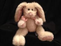 "Bunny Rabbit Eloise Boyds Collectible Plush Stuffed Animal  Easter 9"" Poseable"