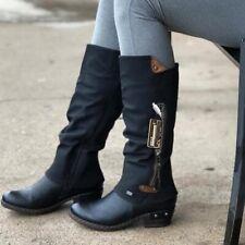【50% OFF Flash Sale💝】2020 autumn & winter Mid Heel Vintage High Boots (Credit C