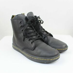 Dr. Martens Women's Black Smooth Leather Shoreditch Boots Size 6