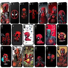 Marvel Hero Deadpool Case for iPhone 11 Pro XR X XS Max 8 7 6 6s Plus 5S SE 5