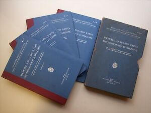 Ministero Aeronautica: MANUALE ANNUARIO RADIO-METEOROLOGICO D'AVIAZIONE, 1933
