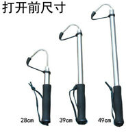 Telescopic Stainless Fish Hook Fish lips Catch fish Fishing Tool Tackle