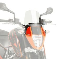 KTM DUKE 690 & R 2012 - 2020 PUIG CLEAR NEW GENERATION SCREEN WINDSHIELD M6009W