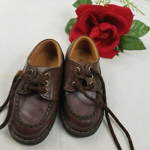 Boys Shoes Size 6 Smart fit Brown leather