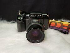 Pentax SF10 35mm Film Camera with Takumar-F 28-80mm f=3.5-4.5 Zoom Lens