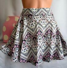 Victorias Secret Pink Flared Skater Mini Skirt NWT XS