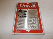 Old Navy Supply Co. deluxe portable magnetic Backgammon board 2 player game NIB
