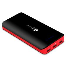 22400mAh Power Bank Ultra High Capacity External Battery 3 USB Output 5.5A