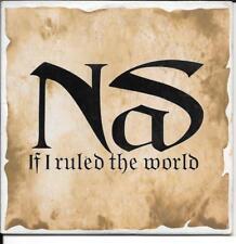 CD SINGLE 2 TITRES--NAS--IF I RULED THE WORLD--1996