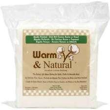"Warm & Natural Cotton Batting Queen Size 90""X108"" 753705023415"