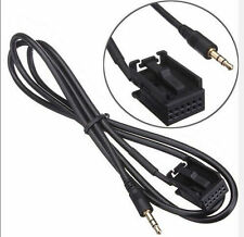 Aux In Input Adapter Cable Lead iPod MP3 For FORD Focus Mondeo Fiesta
