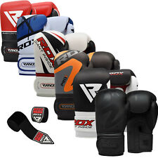 RDX Boxing Gloves Muay Thai Training Mitts Sparring Inner Hand Wrap Kickboxing