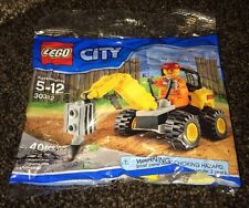 *NEW LEGO CITY DEMOLITION DRILLER SET 30312 #30312 POLYBAG SEALED 40 PIECES RT13