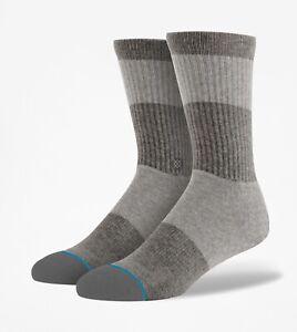 NWT Stance Spectrum Socks Gray Size Large (Size 9-12)