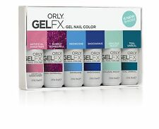 Orly Gel Fx Gel Nail Polish Spring 2015 Collection 6 Color Set 0.3 oz  9 ml Each