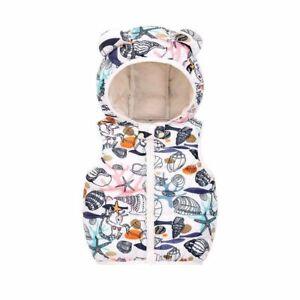 Autumn Children Warm Down Vest Baby Cotton Waistcoat Kids Outerwear Clothing