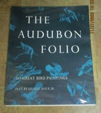"THE AUDUBON FOLIO GREAT BIRD PAINTINGS  30 PRINTS 14"" X 17"""