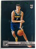 2018-19 Panini Chronicles Green Michael Porter Jr Rookie RC #107, Denver Nuggets