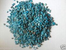 Piedra suelta Turquesa Gravilla-sin agujero-Fabricación de Joyas - 10 G