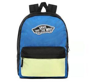 Vans Realm Backpack Victoria Blue Bloc