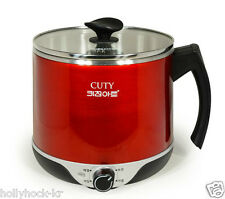 New Upgrade Wireless Electric Multi Cooker Noodle Ramyun Hot Water Steamer 1.8L