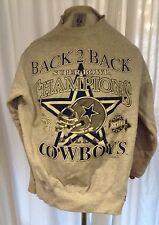 Vintage Dallas Cowboys Super Bowl Sweatshirt 1994 1993 90s #27 28 Texas Football