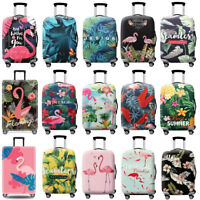 Flamingo Suitcase Elastic Cover Travel Luggage Skin Case Anti Scratch Dust proof