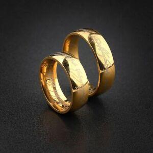 Ring Herr der Ringe Herrscherring Titan vergoldet sehr schön verarbeitet 20mm
