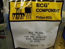 * NEW ECG COMPONENT / PHILIPS  ECG74LS86 .......... WP-43