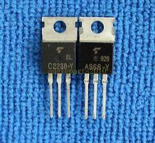 5pairs 2SA968-Y/2SC2238-Y 2SA968/2SC2238 A968-Y/C2238-Y TOSHIBA AMP Transistors