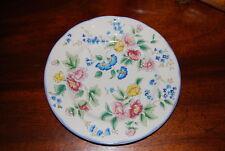 Superb Vintage Laura Ashley Hazelbury Flower Decorated Snack Tea Cabinet Plate 1