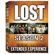 Lost The Complete Second Season 2 Extended Experience 7-Disc DVD Set!!!