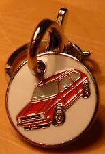 VOLKSWAGEN GOLF Mk1 GTi in Red TROLLEY COIN KEYRING