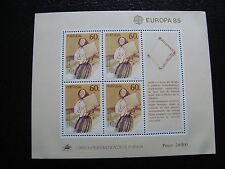 PORTUGAL - timbre yvert et tellier europa bloc n°48 n** - stamp portugal