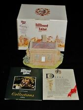 Lilliput Lane The Banqueting House Studley Royal Collection w/Box & Deed, Signed