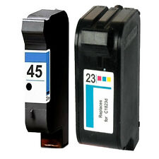 Non-OEM Replaces For HP 23 & 45 Printer Ink Cartridges