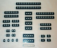 Lego Technic Bricks and Plates Bulk Lot Black 7672