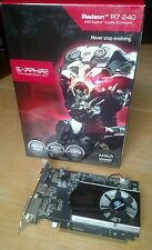 Sapphire Radeon R7 240 4GB DDR3 HDMI/DVI-D/VGA Boost PCI-Express Graphics Card