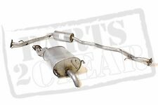 Centre & Rear Exhaust Silencer Tailpipe 85 Bhp L12a1 02-08 Fit Honda Jazz 1.4 8V