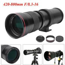 420-800mm F/8.3-16 Telephoto Lens for Nikon D3300 D3400 D5100 D5200 D5300 D7000