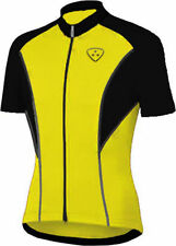 Maglie da ciclismo giallo per uomo taglia S