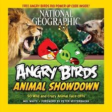 National Geographic Angry Birds Animal Showdown: 50 Wild and Crazy Animal Face-O