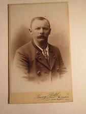 Meiesbach-hombre con barba en el janker-Portrait/CDV