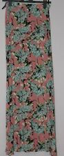 50% OFF BRAND NEW WITH TAG TOPSHOP FLORAL MAXI LONG SKIRT WITH SPLITS SIZE 6