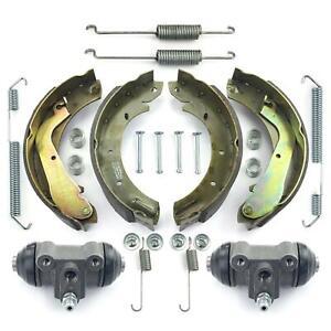 2x Radbremszylinder + Bremsbacken + Zubehör hinten für Nissan Terrano II R20