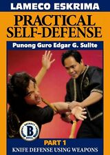 Lameco Eskrima Practical Self Defense #1 Knife Defense Weapons Dvd Edgar Sulite