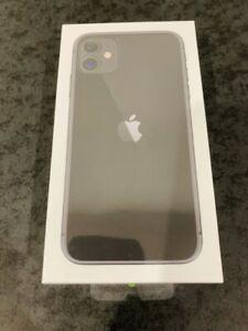 Apple iPhone 11 128gb BLACK (Unlocked) A2221 (CDMA + GSM) BRAND NEW