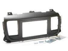 für PEUGEOT Traveller  Auto Radio Blende Einbau Rahmen Doppel-DIN 2-DIN schwarz