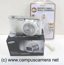 Samsung Galaxy Camera 2 21x Zoom 16.3MP EK-GC200 White EK-GC200WAXAR EXCELLENT!